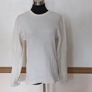 Old Navy Large Cotton Thermal Waffle Top, shirt